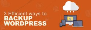 3 Effective Ways to Backup WordPress Site