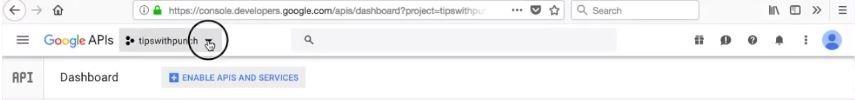"""""""Google APIs logo"""""""