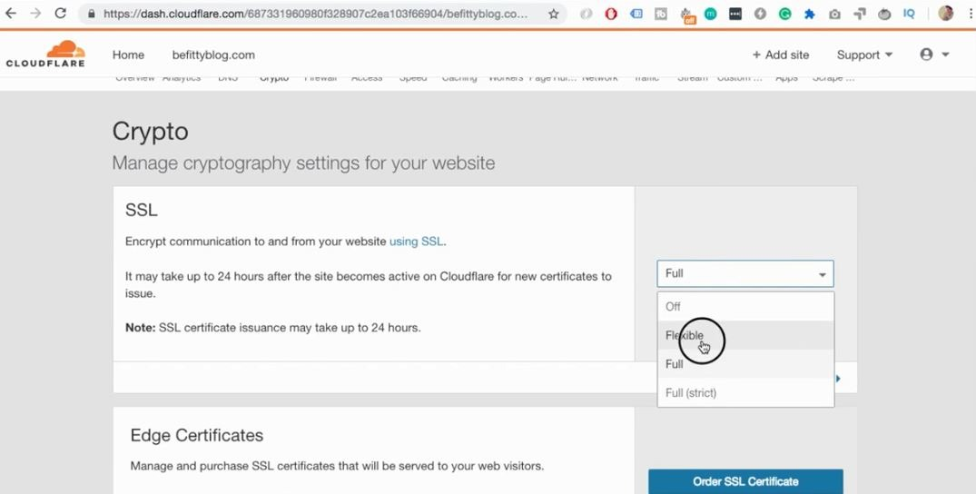 Free WordPress SSL Certificate with Cloudflare (works with any hosting)