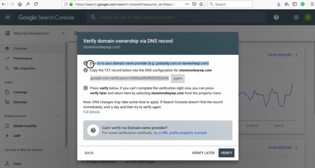 how to verify