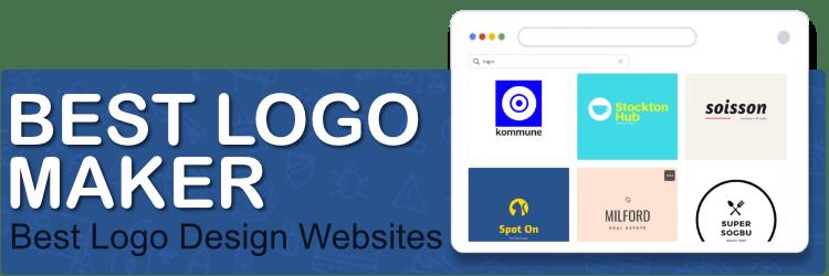 Best Logo Maker: 14 Logo Design Websites Compared (free + paid tools)