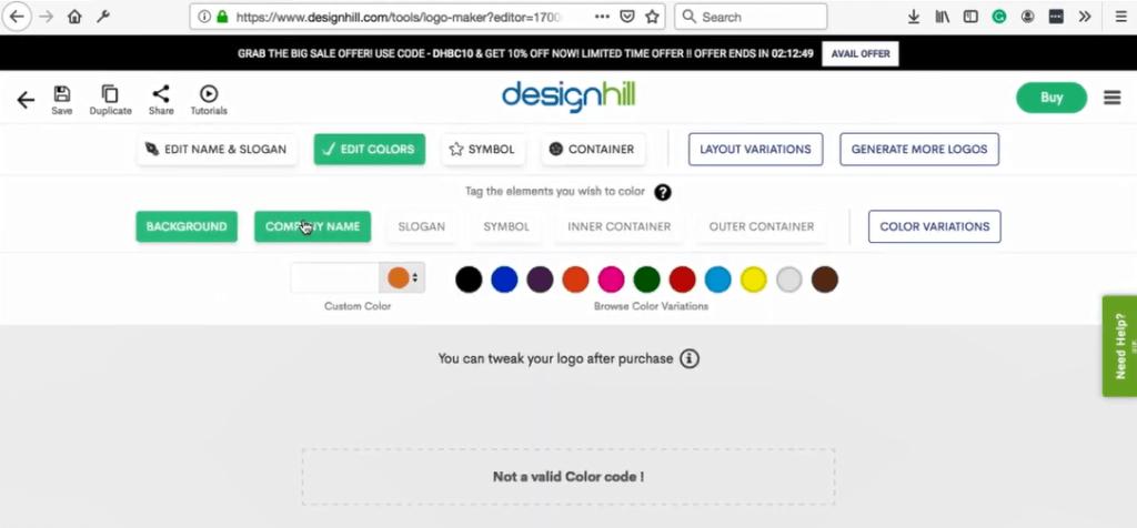 DesignHill tools