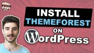 How to Install a ThemeForest WordPress Theme (Premium WordPress Theme)