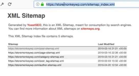 Creating XML sitemap WordPress website, step 6