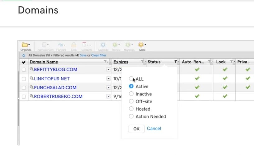 Obtain the Name Servers of your Hosting Provider. Image 7