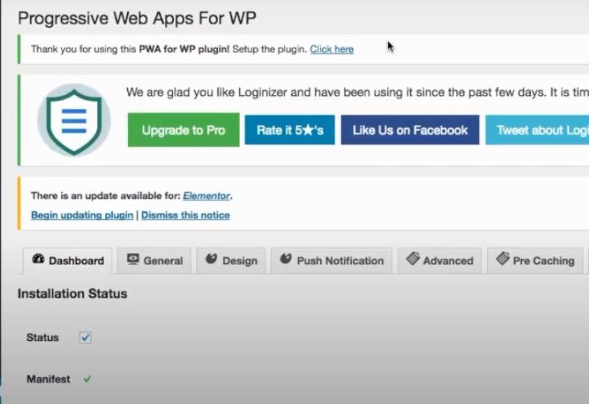 Installing The WordPress PWA Plugin - Image 3